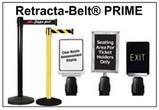 Retracta-Belt® PRIME Crowd Control Stanchions