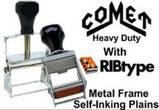 Metal Frame Self-Inking Stamps