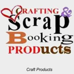 Crafting, Scrapbook and Art Stamping Products