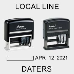 Self-Inking Local Style Daters