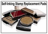 Self-Inking Stamp Replacement Pads