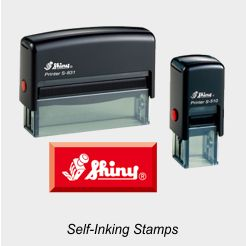 Shiny 850 Series Printer Rubber Stamps