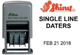 Shiny Printer Line Dater