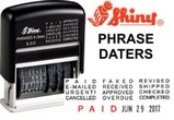 Shiny Printer Phrase Daters