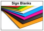 Custom Cut Acrylic Sign Material