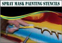 Spray Mask Stencils, 1
