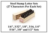 Letter Sets, 27 Characters, Industrial Strength