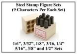 Figure Sets - Reversed Hand Stamps (9 Characters)