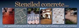Sidewalk and Pavement Stencils Concrete Stencil Concrete Stencils Sidewalks Stenciling