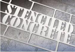 Concrete Sidewalk and Driveway Decor Stencils