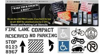 Parking Lot Stencils