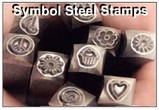 Symbol Steel Hand Stamps