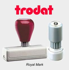 Royal Mark Pre-Inked Foam Stamps