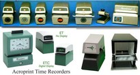 Time Recorders/Time & Date Stamps