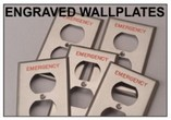 Engraved & Silkscreened Wallplates