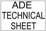 ADE Technical Sheet