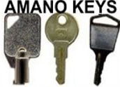 Amano Key Replacements