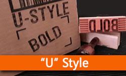 RIBtype REGULAR BOLD (U) Typestyle