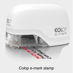 Colop E-Mark Stamp
