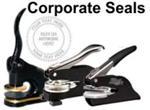 Corporate Embossing Seals