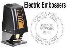Electric Desk Embossing Seals