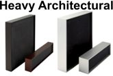 Heavy Architectural Aluminum Frames