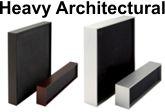 Heavy Architectural Aluminum Frames