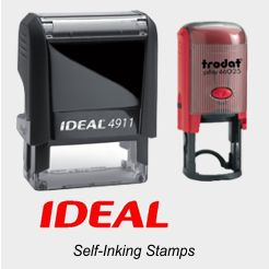 Ideal - Trodat Self-Inking Rubber Stamps