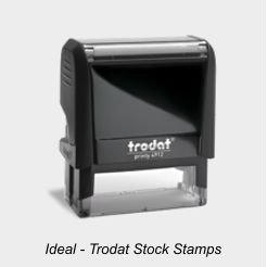 Ideal Stock Rubber Stamps
