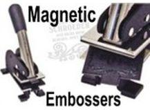 Magnetic Insert Embosser