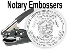 Notary Public Embossing Seals