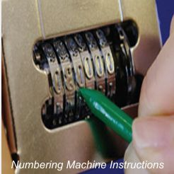 Numbering Machine Instructions