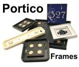 Portico Plastic Sign Frames