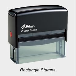Shiny Rectangle Stamps