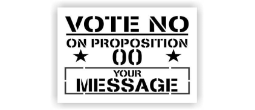Vote No Prop