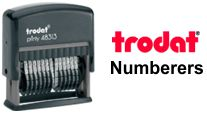 Trodat Printy Numberers