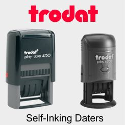 Ideal / Trodat Self-Inking Daters