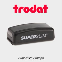 Trodat Super Slim Stamps