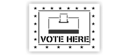Vote Here with Box