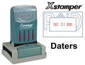 Xstamper Pre-Inked Daters