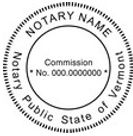 Vermont Notary Embosser