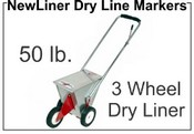 NewLiner 50 lb. 3 Wheel Dry Liner