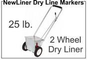 NewLiner 25 lb. 2 Wheel Dry Liner