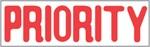 """Xstamper Pre-Inked Stock Stamp """"PRIORITY"""" Xstamper Stock Stamp"""