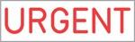 "Xstamper Pre-Inked Stock Stamp ""URGENT"" Xstamper Stock Stamp"