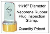 Inspection Stamp, 11/16""