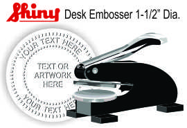 Embossing Desk Seal
