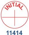 Pre-Inked Stock Stamp - (INITIAL) Xstamper Stock Stamp