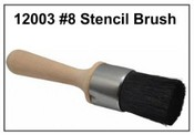 White Stencil Artist Brush