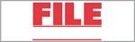 """Xstamper Pre-Inked Stock Stamp """"FILE"""" Xstamper Stock Stamp"""